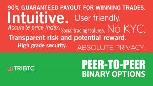TRIBTC Crypto Options Trading - Free 1BTC Demo Account
